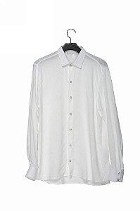 camisa linho manga longa off