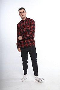 camisa xadrez tartan