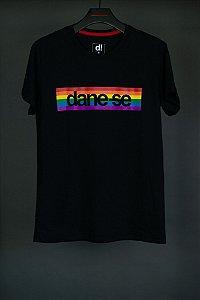 camiseta dane-se pride preto