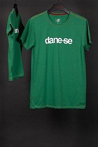 camiseta dane-se cláudio verde