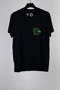 camiseta cidade parque comfy preto