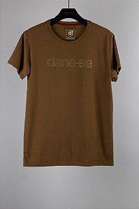camiseta dane-se cerrado marrom