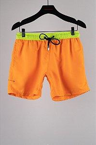 short flamboyant laranja