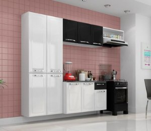 Cozinha De Aço Itatiaia Amanda 10 portas e 1 gaveta