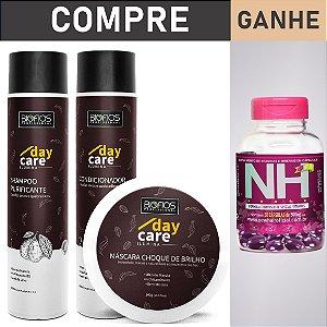 Kit Hidratação Profunda Banho de Brilho + New Hair - Day Care Ilúmina (Envio em até 24hrs)