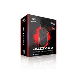 Mouse Gamer Buzzard MG-110BK C3 Tech
