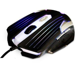 MOUSE USB GAMER PRETO/PRATA MG-11 BSI C3 TECH