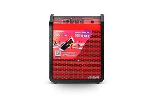 Caixa amplificada multiuso frahm – chroma red