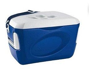 Caixa Termica Invicta 24 Litros Azul