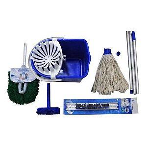 Kit Promocional Nº5 Mopinho Azul Ny05az Bralimpia Bralimpia