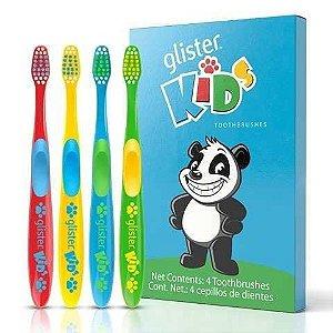 Escova De Dente Para Crianças Glister Kids Amway Infantil - 1 Unidade - Longa Duração