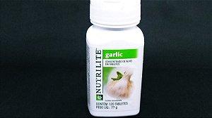 Garlic Concentrado De Alho Sem Gosto - Suplemento Nutrilite - 120 Tabletes