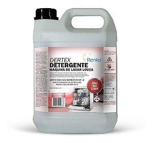 Para Máquina De Lavar Louça Dertex 5l Renko Detergente Nobre