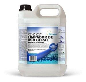 Klyo Oxy Uso Geral - Composto De Peroxido 5l Renko + Fresh Limpador Multiuso / Limpa Carpetes