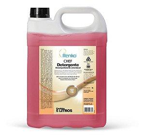 Chef Detergente Desengordurante Amoniacal 5l Renko Amônia