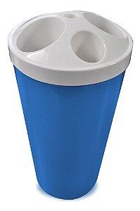 Dispensador De Copos Descartáveis 2 Em 1 Café Agua Bralimpia