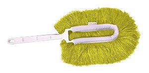 Espanador Eletrostático Amarelo  Bralimpia - Limpeza Seca