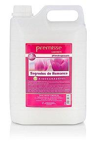 Sabonete Liquido Segredos de Romance 5L Mãos Banho Premisse