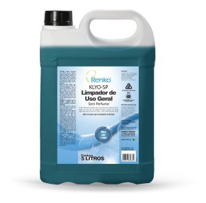 Limpador De Uso Geral Klyo-sp Sem Perfume 5l Renko 1/300