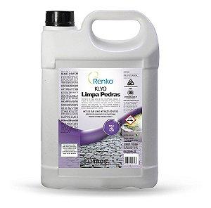 Detergente Acido Limpa Pedras Klyo 5l Renko Concentrado