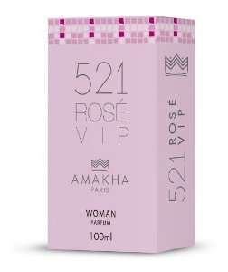 521 Vip Rosé - Perfume Feminino - 100ml Amakha Paris