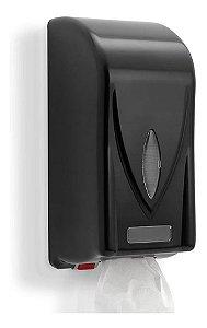 Dispenser Papel Higiênico Cai Cai Preto Premisse Clean Dark