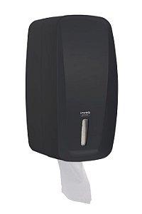 Dispenser Porta Papel Higiênico Cai Cai Preto Invoq Premisse