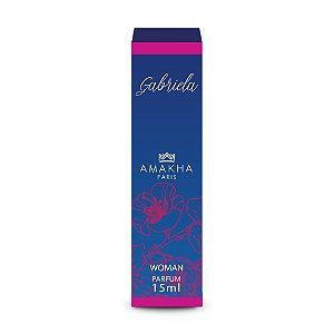 Kit 6 Unidades Perfume Gabriela Amakha Paris15ml  Feminino
