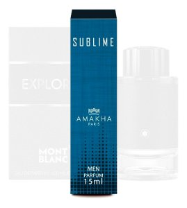 Perfume Importado Masculino Sublime Amakha Paris Eau Parfum