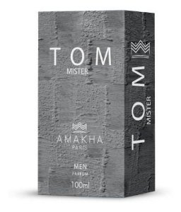 Perfume Tom Mister Amakha 100ml - Eau de parfum amadeirado