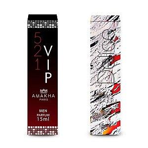 Perfume Masculino Vip Men + Feminino Delíce Amakha Paris ++