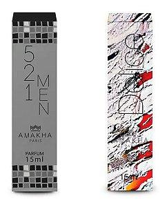 Perfume Masculino 521 Men + Feminino Delíce Amakha Paris +++