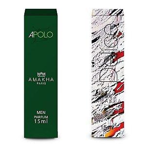 Perfume Masculino Apolo + Feminino Delíce Amakha Paris Kit +