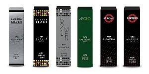 Amakha Silver / Fast Car Black / Apolo / 2 Strong / 521 Man Excelente Fixação Na Pele Melhor Custo Benefício Parfum