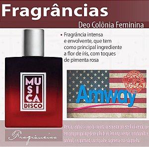 Colônia Desodorante Perfume Música Disco Feminina Amway ++++