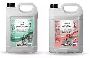 Kit Fórmula Secante Secca Dertex Detergente Lavar Louça 5l