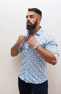 Camisa Manga Longa Slim