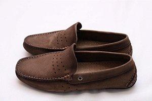 Sapato Mocassim Nobuck