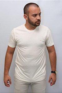 T-shirt casual listrada