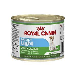 Ração Úmida Lata Royal Canin Light para Cães de Raças Pequenas 195g