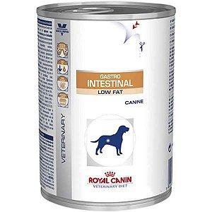 Ração Royal Canin Lata Veterinary Diet Gastro Intestinal Low Fat Wet - 410 g