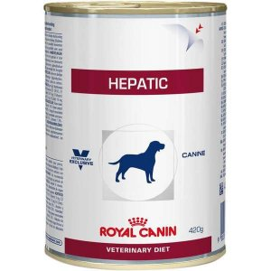 Ração Royal Canin Lata Veterinary Diet Hepatic Wet para Cães - 420 g