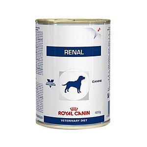 Ração Royal Canin Lata Veterinary Diet Renal Wet para Cães - 410 g