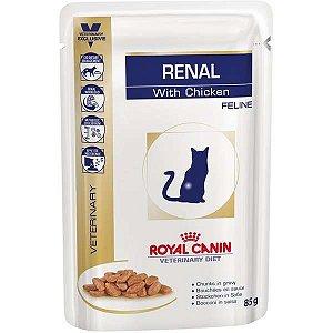 Ração Royal Canin Sachê Feline Veterinary Diet Renal Wet - 100 g