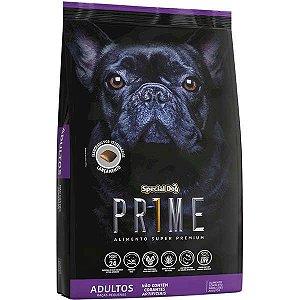 Ração Special Dog Prime para Cães Adultos de Raças Pequenas