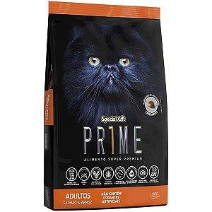 Ração Special Cat Prime Salmão e Arroz para Gatos Adultos 3 kg