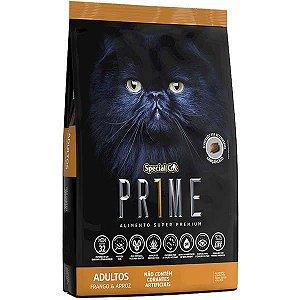 Ração Special Cat Prime Frango e Arroz para Gatos Adultos 3 kg