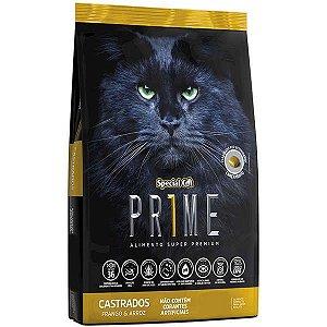 Ração Special Cat Prime Frango e Arroz para Gatos Adultos Castrados 3 kg
