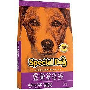 Ração Special Dog Premium para Cães Adultos de Raças Pequenas