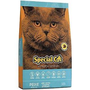 Ração Special Cat Premium Peixe para Gatos Adultos